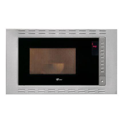 2d3bb2061 Micro-ondas de Embutir Fischer 25 litros 25873 - Inox - lojasbecker