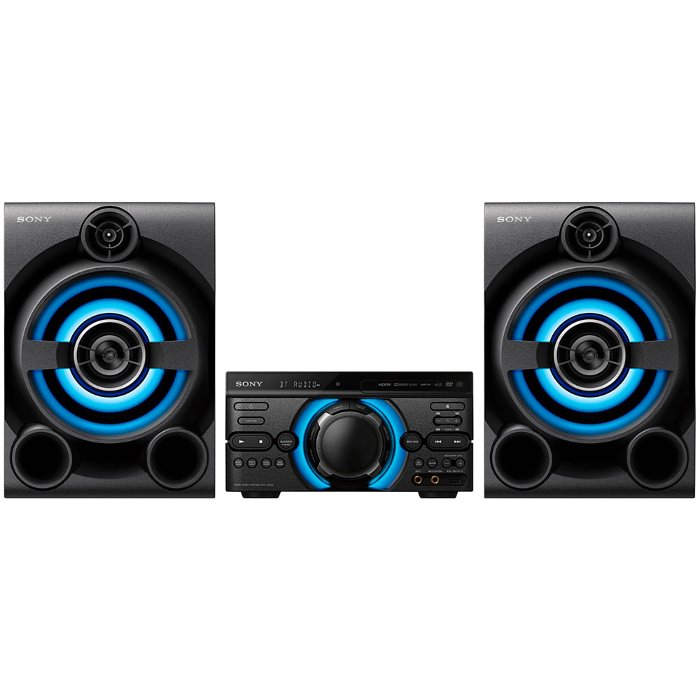 95ceff56c Mini System Sony MHC-M60D Potência 1600W DVD Integrado Efeitos de DJ ...