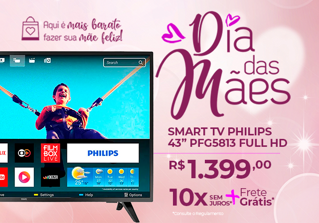 MÃES - TV Philips Mobile