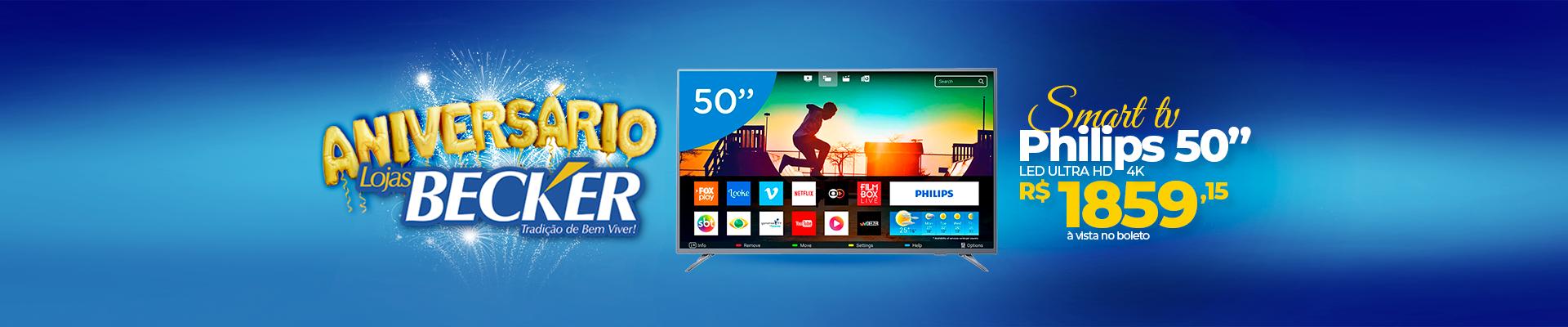 SMART TV PHILIPS 50