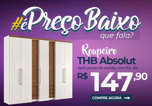 Roupeiro THB Absolut - Mobile