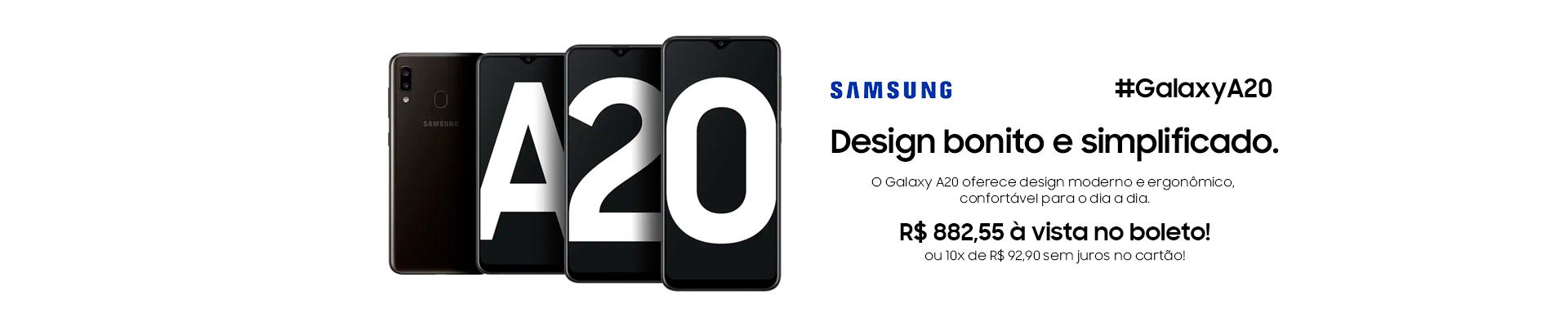 AGOSTO - Samsung A20