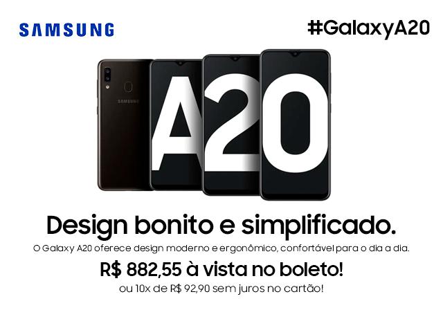 AGOSTO - Samsung A20 Mobile