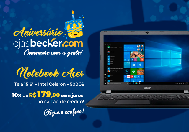 ANIVERSARIO - Notebook Acer - Mobile