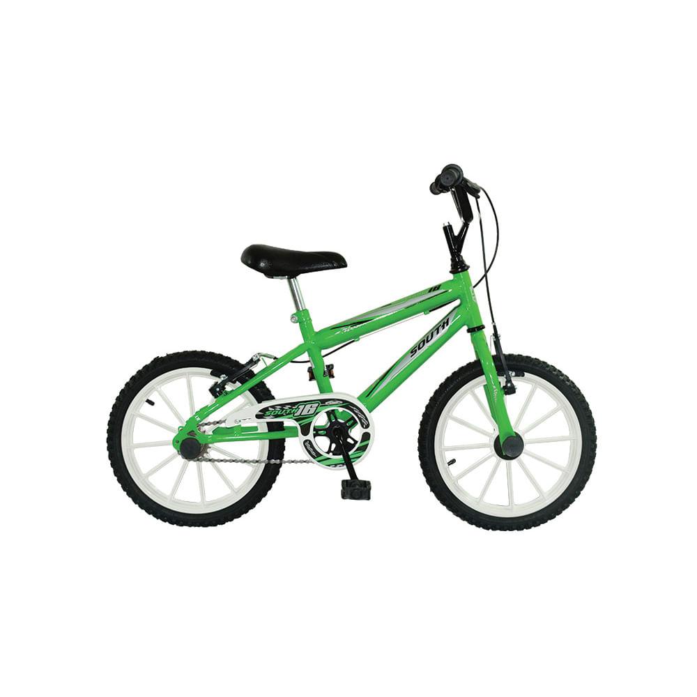 Edredon Bicicleta.Bicicleta South Bike Infantil Ferinha Aro 16 Verde E