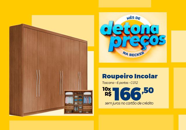 JANEIRO - Roupeiro Incolar - Mobile