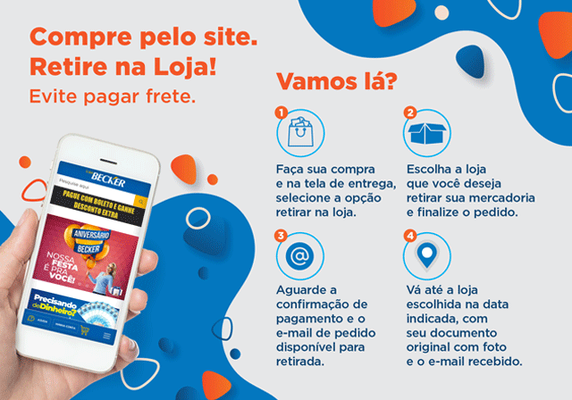 RETIRE LOJA - Mobile