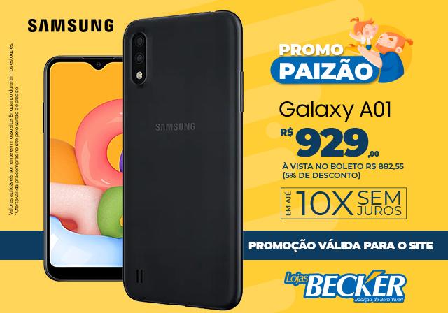 AGOSTO - Samsung A01 - Mobile