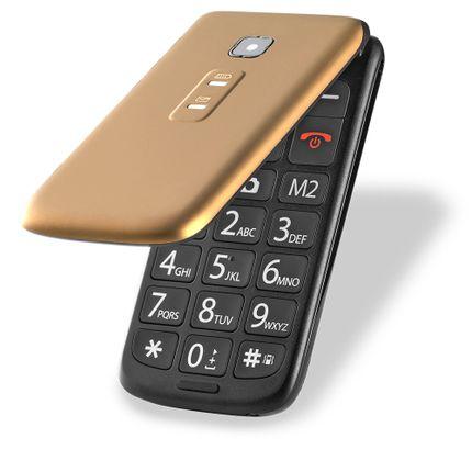 celular_multilaser_vita-flip_p9043_dourado_frente-semi-aberto