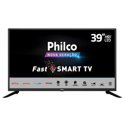 "Tv 39"" Led Philco Hd Smart - Ptv39g60s"