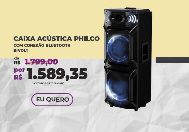 JANEIRO - Caixa de Som Philco - Mobile