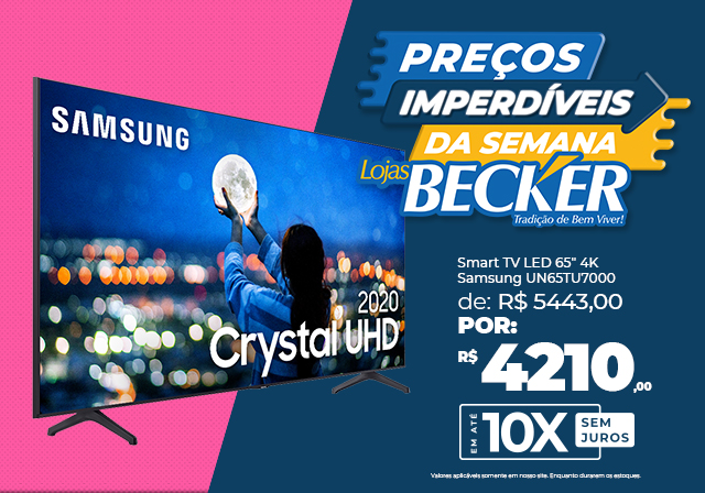 Smart TV Samsung 65 - Mobile