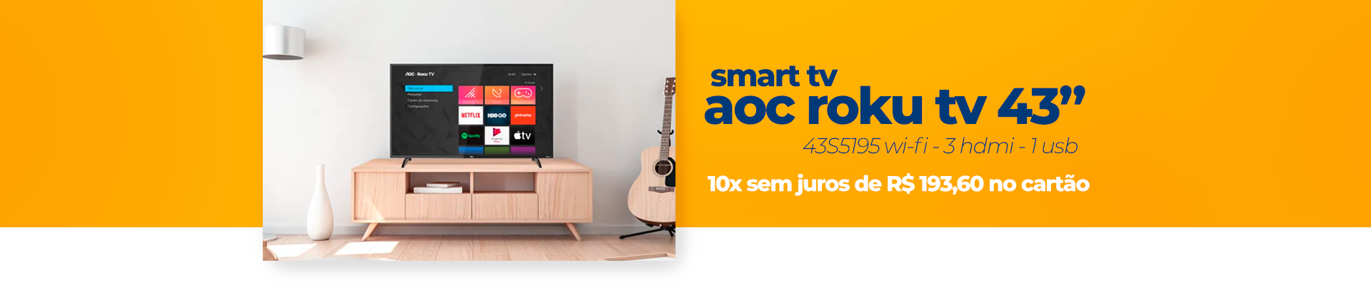 JUNHO - SmartTV AOC