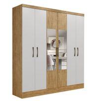 01-roupeiro-maxel-paris-6-portas-com-espelho-capuccino-branco-capa