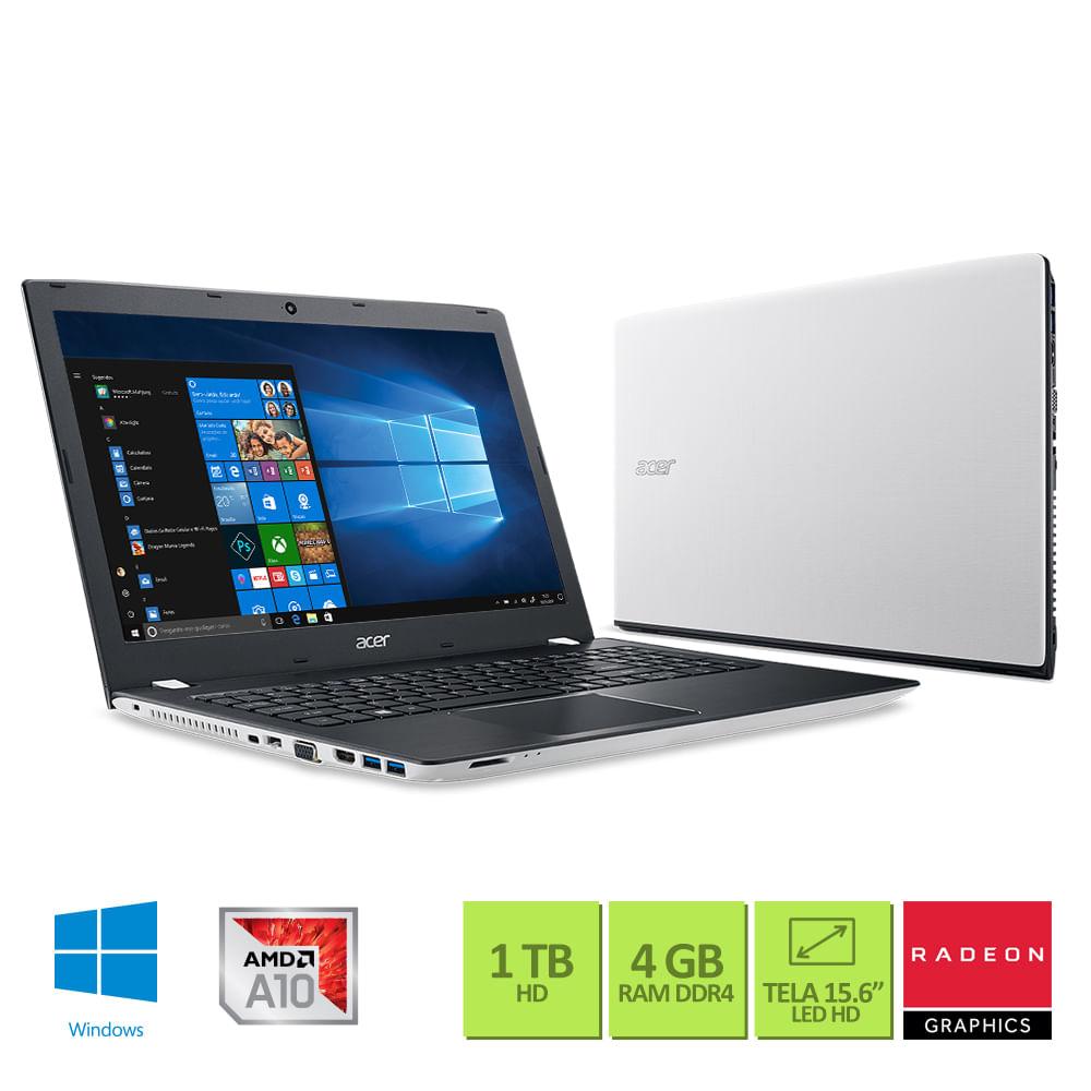 1aff00b4e Notebook Acer E5-553G-T4TJ Tela 15.6